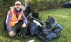 Tom Rawson previously helped remove two tonnes of rubbish from the River Tweed.