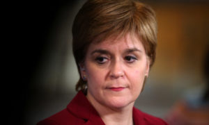 Nicola Sturgeon has been accused of lying to Holyrood.