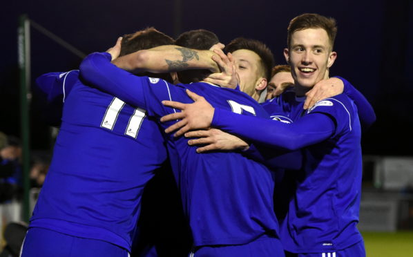 Cove Rangers are due to test players before they face Hibernian on October 10