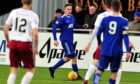 Tom Leighton in action for Cove Rangers