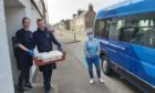 Fish deliveries in Golspie