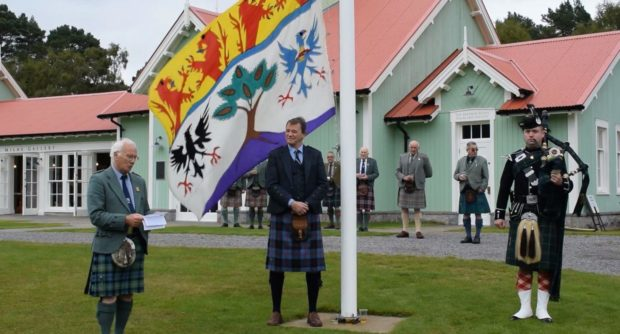 The Braemar Highland Games were held virtually for 2020 due to Covid-19 restrictions.