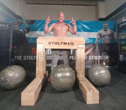 Tom Stoltman is aiming to end the year on a high as he prepares for World's Strongest Man in November.