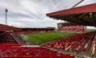 Aberdeen's Pittodrie Stadium.
