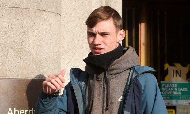 Jake Bryden, 19, appeared at Aberdeen Sheriff Court.