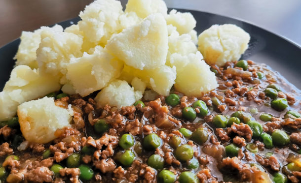 Mince and tatties was a family favourite meal.