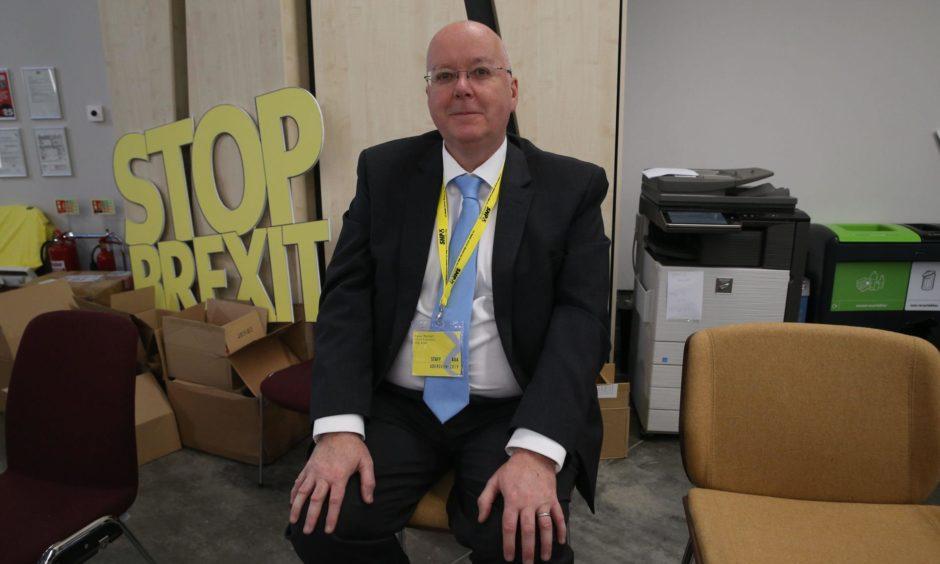 Peter Murrell, Nicola Sturgeon's husband.