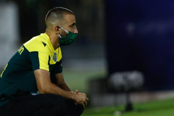 Sporting CP head coach Ruben Amorim is one of those to test positive for Covid-19