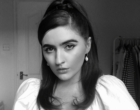 Inverness designer Chloe Innes.