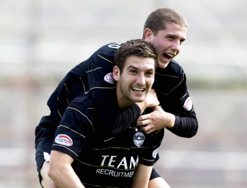 Charlie Mulgrew during his time with Aberdeen.