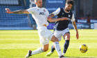 Cove Rangers defender Scott Ross in action against Dundee.