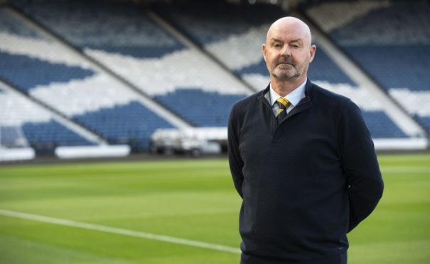 Scotland national team coach Steve Clarke.
