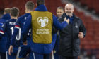 Victorious Scotland manager Steve Clarke has taken flak for the style of play.