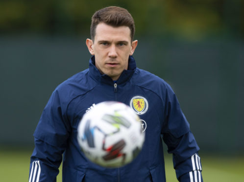 Scotland midfielder Ryan Jack.