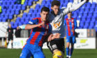 Nikolay Todorov netted for Caley Thistle.