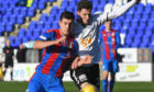 Nikolay Todorov is moving on from Caley Thistle.