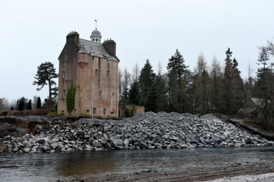 Abergeldie Castle near Ballater, Aberdeenshire. Picture by Kenny Elrick.