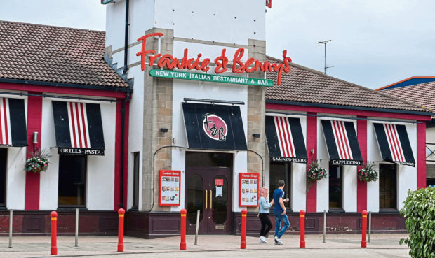 Frankie and Benny's at Queen's Link Aberdeen. Picture by Chris Sumner.