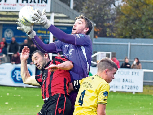 Keeper Sean McCarthy. Picture by Jim Irvine  2-11-19