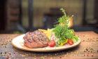 Steak beef on a plate.