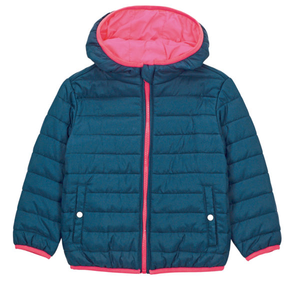 Puff Me Up coat, £35, White Stuff.