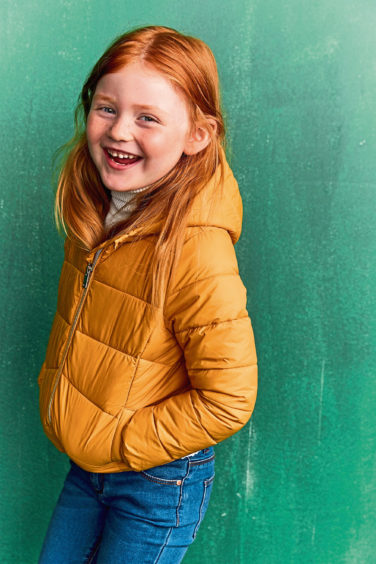 Recycled jacket, £10, Primark.