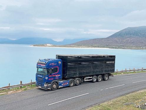 Iain MacEachen has updated his fleet of transporters.