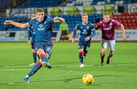 Richie Brittain praises Ross Stewart's killer instinct after Staggies fight back to earn Betfred Cup win over Arbroath