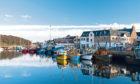 Stornoway Harbour.