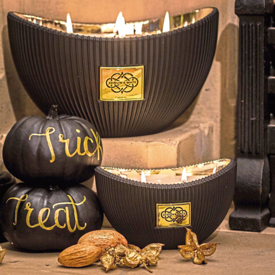 Halloween 2020 scented candles, £53, Johnson and White Aromas