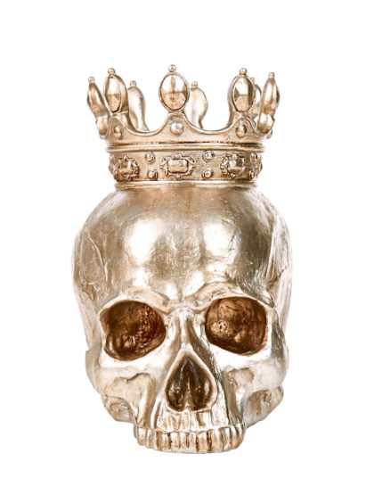 Skull and crown accessory, £19.99, Homesense