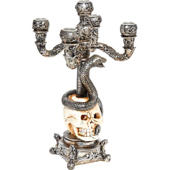 Skull and snake candelabra, 12.99, Homesense