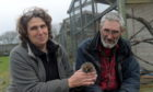 Pauline and Keith Marley at the New Arc wildlife centre.