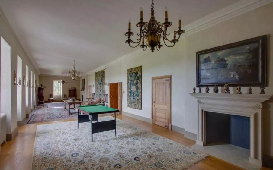 To go with story by Ana Da Silva. Former laird's north-east house now on the market for ?1.5m Picture shows; Gallery House. Angus. Courtesy Savills Date; Unknown