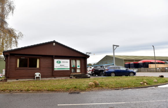 James Jones and Sons Sawmill, Aboyne.  Picture by Scott Baxter 27/10/2020