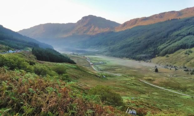 The A83 has been closed at the Rest and Be Thankful with motorists diverted onto the Old Military Road