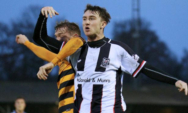 Andy McDonald has rejoined Elgin City on loan.