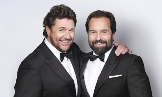Michael Ball and Alfie Boe will take their tour to P&J Live next year.