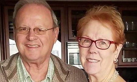 Bob and Sheila Gilbert.