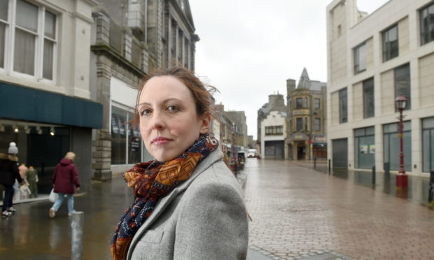 Caithness councillor Nicola Sinclair. Sandy McCook/DCT