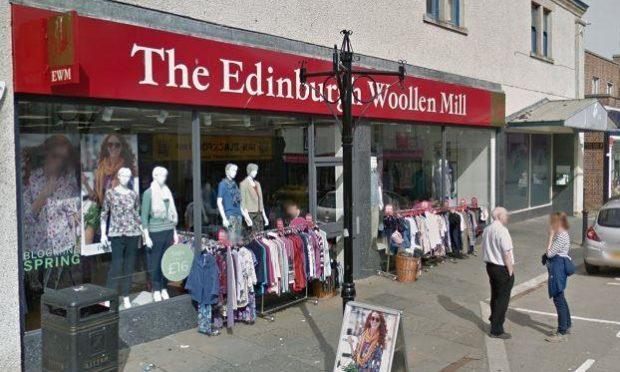 Edinburgh Woollen Mill in Dingwall is closing today.