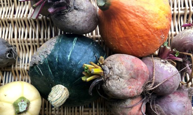 Seasonal produce.