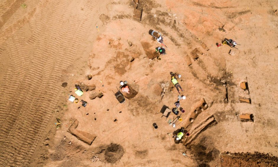 Ali Cameron and her team have uncovered a major find at Cruden Bay.