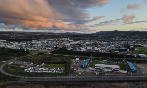 The drive in cinema is returning to Inverness
