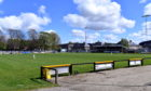 Christie Park, home of Huntly FC.  Picture by Chris Sumner