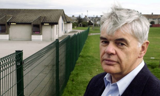 Andy Finlayson is one of 10 vying for the vacant Aberdeen council seat. Picture by David Pattinson.