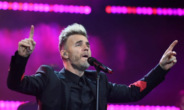 Gary Barlow live at the AECC in 2018