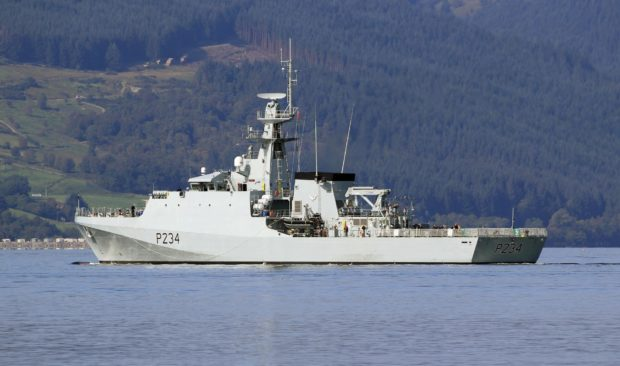 Moray's affiliated warship HMS Spey completes maiden sea trials.