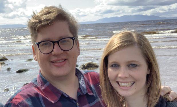 Rev Eddie Enslin and his wife Carlien.