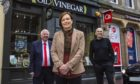 Mike Smith and Margaret Laws and, Colin Craig from Inverness BID